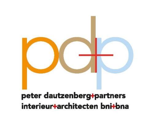 Logo pd+p plus 2 regels